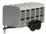 Oxford Diecast 76FARM001  Farm Livestock Trailer